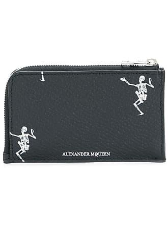 Alexander McQueen Dancing Skeleton cardholder - Black