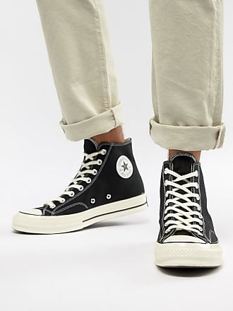 25d1c9bdf77a Converse Chuck Taylor All Star 70 Hi Trainers In Black 162050C