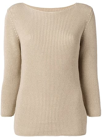Gentryportofino ribbed knit sweater - Neutro