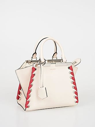 f19f1c25f74 Fendi Leather MINI 3 JOURS Tote Bag size Unica