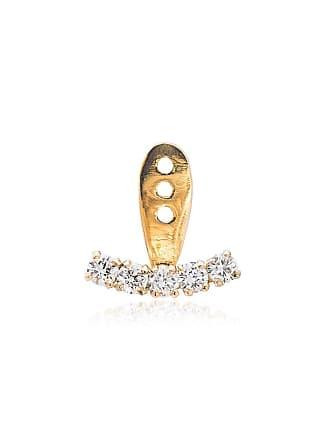 Yvonne Léon 18k gold and diamond ear cuff - Metallic