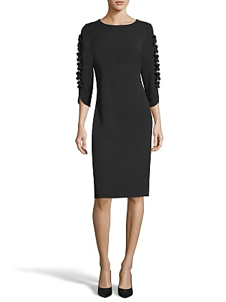5twelve Pearly-Sleeve 3/4-Sleeve Sheath Dress