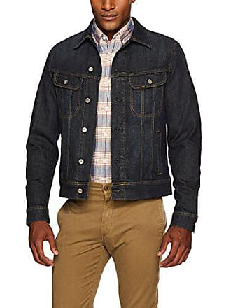 Lee Mens Denim Jacket, Strong Arm, Medium