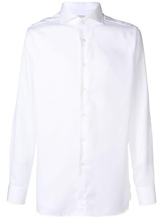 Xacus plain button down shirt - White
