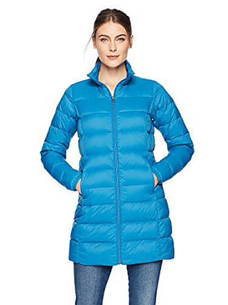 Amazon Essentials Womens Lightweight Water-Resistant Packable Down Coat, Teal Seaport, X-Small