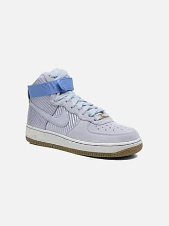 380b4027b0e Nike Wmns Air Force 1 Hi Prm - Sneakers voor Dames / Blauw