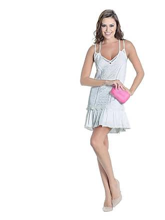 9b2737d9f0 Colcci Vestido Off White Renda Guipir Colcci - Feminino