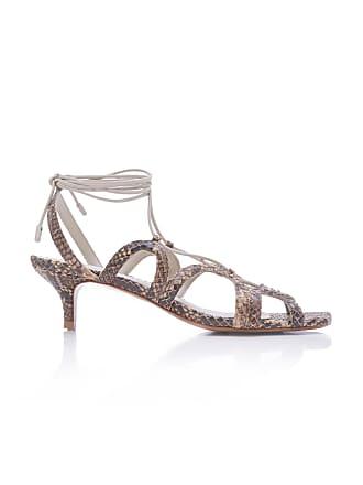 926bd83caa2 Zimmermann Scallop Kitten Heel Sandals