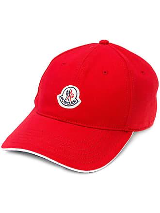 Moncler Boné com logo - Vermelho