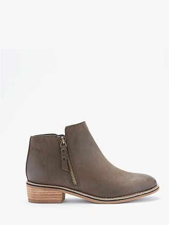 Blondo Womens Liam Ankle Bootie Taupe Nubuck Size 8.5 Leather From Sole Society