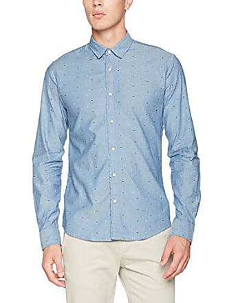 Scotch   Soda Oxford Weave Shirt   Slim Fit, Chemise Business Homme,  Multicolore ( f63f456ff31c