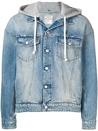 Zadig & Voltaire hooded denim jacket - Blue