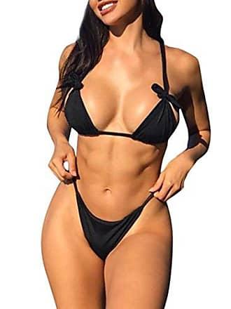 62a523e678b848 LHWY Bikini Damen Push Up, Frauen Bademode Set Bandage Schwimmübung  Kleidung Elegant Gepolsterter Badeanzug Baden