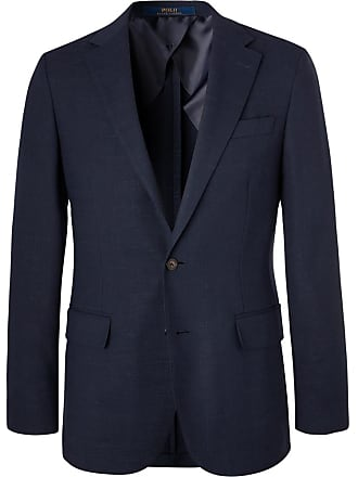 Polo Ralph Lauren Navy Slim-fit Unstructured Woven Blazer - Navy