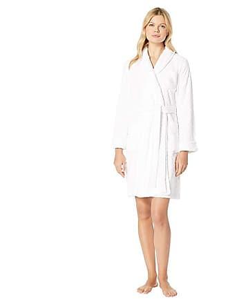 Ralph Lauren Short Shawl Collar Sculpted Robe (White) Womens Robe 63a98d2d9