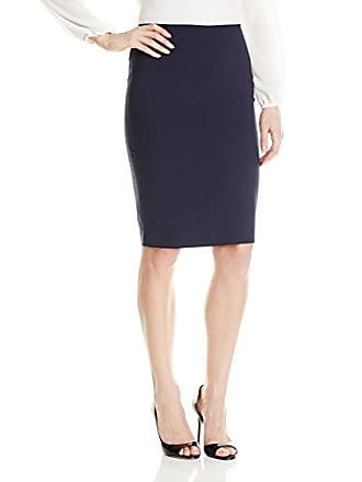 4256c1503 Elie Tahari Womens Penelope Seasonless Wool Pencil Skirt, Navy, 2