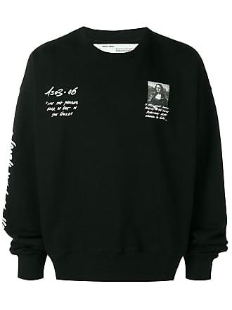 Off-white Mona Lisa print sweatshirt - Black