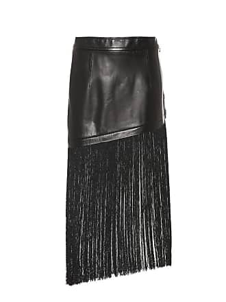 Helmut Lang Fringed miniskirt