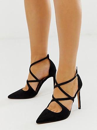 999bdd199fd550 Asos ASOS Design - Wren - Chaussures pointure large à bout pointu et talon  aiguille -