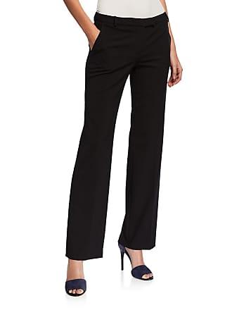 Iconic American Designer Jacquard Slim-Leg Pants