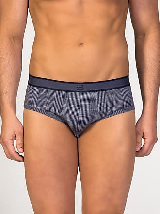 ZD Zero Defects Zero Defects navy blue egyptian cotton brief