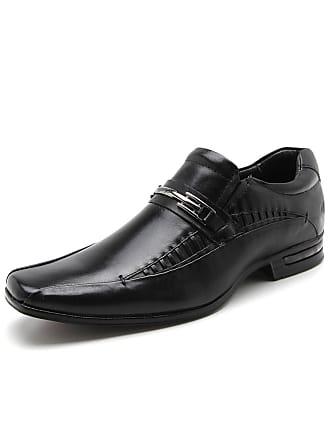 Rafarillo Sapato Social Couro Rafarillo Costura Preto