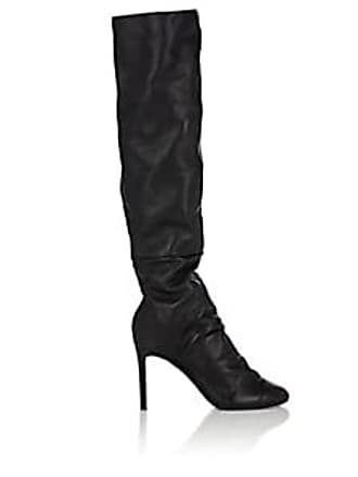 d7234c5b5a0 Nicholas Kirkwood Womens DArcy Leather Knee Boots - Black Size 7.5