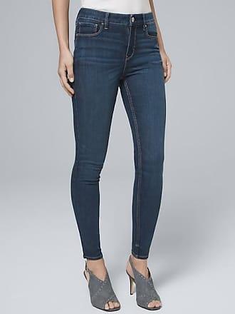 White House Black Market Womens High-Rise Sculpt Fit Skinny Crop Jeans by White House Black Market, Medium Wash, Size 12 - Regular