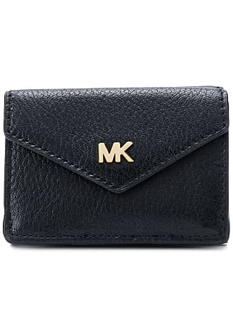 5334bcd82010 Michael Michael Kors small trifold flap wallet - Black