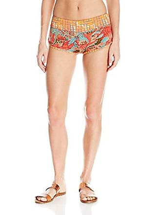 Maaji Womens Drink Taxis Shorts Cover Up, Bright Orange, M