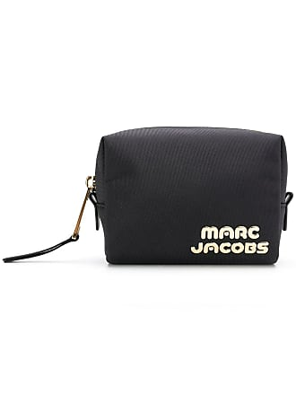 Marc Jacobs Necessaire com logo - Preto