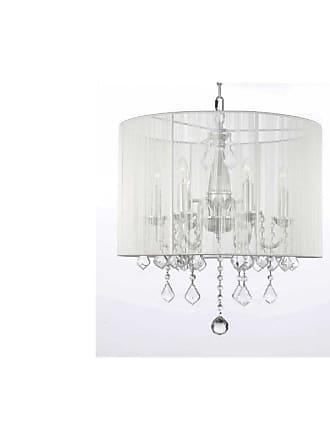Gallery T40-299 6 Light 1 Tier Crystal Candle Style Chandelier with