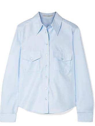 Stella McCartney Cotton-poplin Shirt - Blue