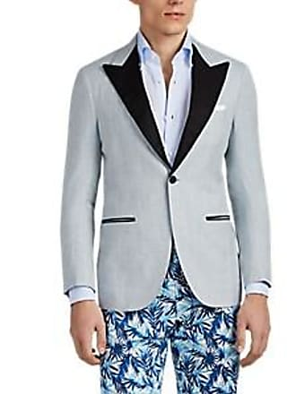 5d7f4acb84927c Sartorio Mens PG Silk-Blend One-Button Sportcoat - Lt. Blue Size 40