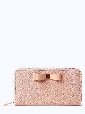 ee893e0c34a7b Ted Baker Damen Geldbörse aus Leder rosa