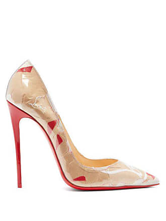 6374183f519c Christian Louboutin So Kate Louis Kraft 120 Pumps - Womens - Brown Multi.  In high demand