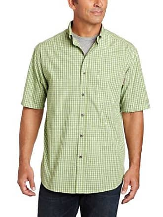 Wolverine Mens Briscoe Short Sleeve Cactus Shirt, Green, XX-Large