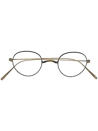 Oliver Peoples Armação de óculos redonda - Preto