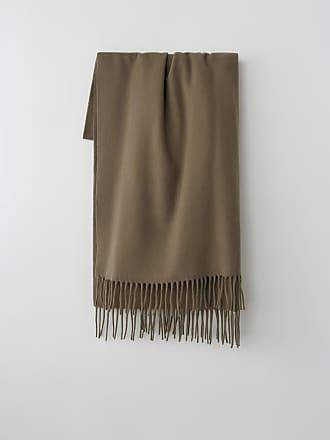 Acne Studios Canada New Mushroom beige Fringed scarf