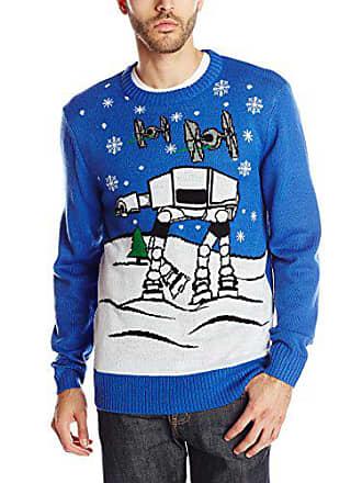 Star Wars Mens Snow Flight Sweater, Royal, X-Large