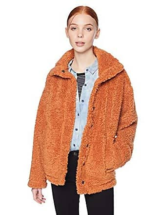 Billabong Womens Cozy Days Sherpa Jacket Toffee Large