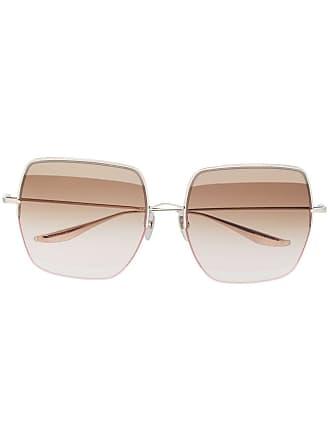 Dita Eyewear Óculos de sol oversized Metamet - Prateado