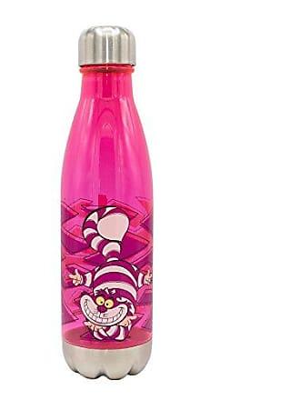 Disney Silver Buffalo AW11078J Disneys Alice in Wonderland Cheshire Plastic Water Bottle, 20 oz, Multicolor