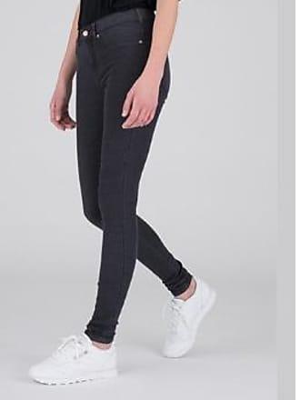 Dr. Denim Lexy Old Black Second Skin Jeans - XS - Black