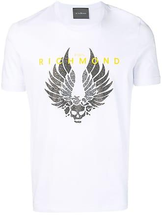 John Richmond Camiseta com estampa Skull Wings - Preto