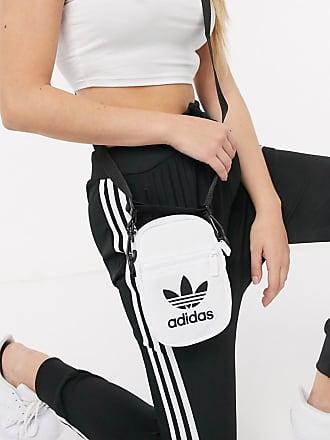 adidas Originals trefoil mini bag in white