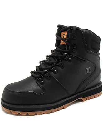 DC Bota Couro DC Shoes Peary Preta