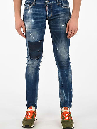 Dsquared2 16cm Vintage Effect Slim Fit Jeans Größe 52