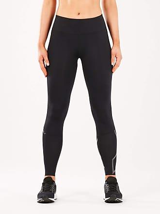 2XU Run Mid Rise Compression Womens Tights - AW20 - Small - Tall Black