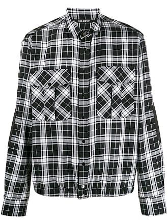 Neil Barrett Camisa xadrez - Preto